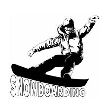 Snowboarding Wall Stickers Vinyl Decal Home Decor Art Decorative Decoration Mural Winter Sport Snowboarding Car Glass Decals Wall Stickers Aliexpress