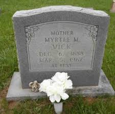 Mary Myrtle Mitchell Vick (1888-1967) - Find A Grave Memorial