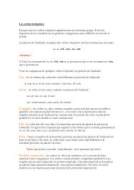 francés verbos irregulares docsity