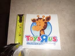 Toys R Us Geoffrey Vinyl Decal New Sad Geoffrey 4 Goodbye Edition Guaranteed 1921341349