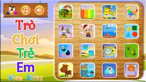 Game Trẻ Em: Trò Chơi Giáo Dục Cho Bé - YouTube
