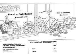 Kleuren Voor De Bakker Yaroon S Cartoons