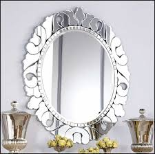 shapes of decorative bathroom mirrors