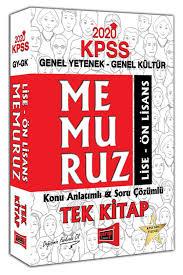 2020 KPSS Memuruz Lise - Ön Lisans Genel Yetenek Genel Kültür Konu ...