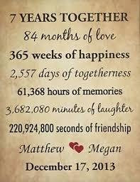 7th year wedding anniversary message