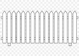 Picket Fence Clip Art Png 2400x1697px Fence Black And White Chainlink Fencing Computer Garden Download Free