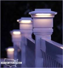 Solar Post Caps Lighting Academy Fence Company Nj Pa Ny