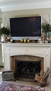 how to create a fall vignette home