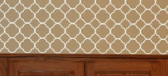 Quatrefoil Pattern Vinyl Wall Decal Sticker Shapes For Wall Decor 2pc 60x11 Inch With Images Wall Decal Pattern Vinyl Wall Decals Patterned Vinyl