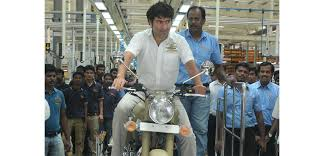 new royal enfield plant in india