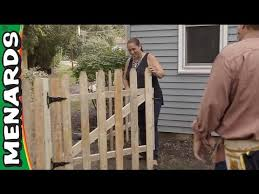 Replace A Fence We Re Here To Help Menards Youtube