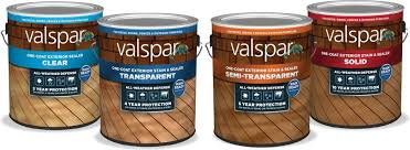 Valspar Introduces New Line Of Exterior Stains