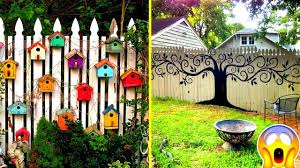 Beautiful Diy Fence Decorations Creative Fences Youtube