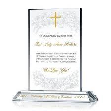 pastor wife gift plaque