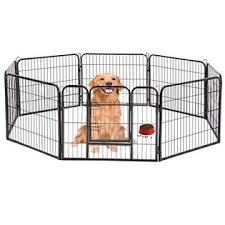 Bestpet Hammertone Finish 40 Heavy Duty Pet Playpen Dog Exercise Pen Cat Fence S