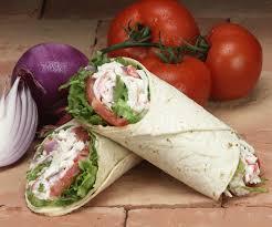 Seafood Salad Wrap