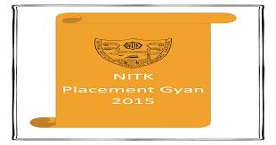 nitk placement gyan 2016 pdf doent