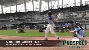 Connor Scott Prospect Video, OF, Plant High School Class of 2018 - YouTube