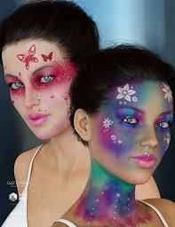 enchanted fantasy makeup for genesis 8