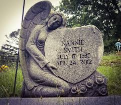 RIP, Nannie Smith, whoever you may have been. Location of photo ...