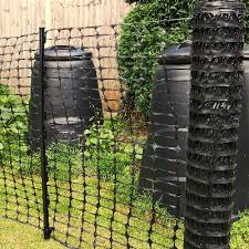 Temporary Fence Kit Up To 50m Choice Of Colours Grades Posts Plastic Barrier Mesh