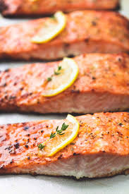 best easy healthy baked salmon creme