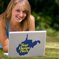 Custom West Virginia Decals Design And Buy Stickylife Com