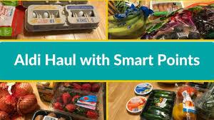 aldi s weight watchers grocery haul
