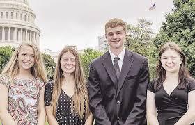 County students visit Washington   Education   dailystarjournal.com