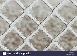 Chainlink Fence Snow High Resolution Stock Photography And Images Alamy
