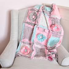 crib bedding rag quilt baby blanket