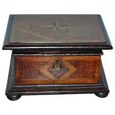 dutch walnut jewelry box antique