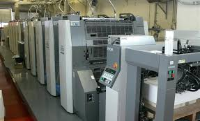 used 8 colour printing machines