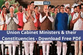 union cabinet ministers their