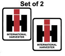 Ih International Harvester Windshield Rear Window Decal Sticker For Sale Online Ebay