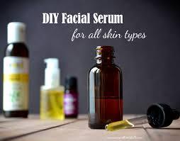 diy serum for all skin types