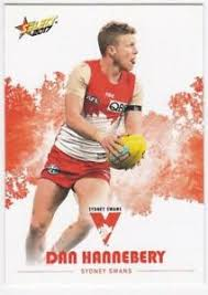 2017 AFL Select Common Card - Sydney - Dan Hannebery   eBay
