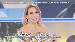 Barbara d'Urso e il video francese sulla pizza corona ...