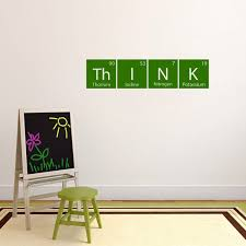 Shop Think Periodic Science Table 36 X 8 5 Inch Wall Decal On Sale Overstock 11893108