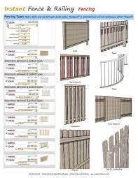 Instant Fence Railing Fencing Vali Architects