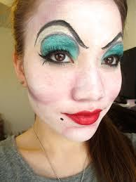 easy ursula makeup so you