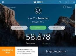 panda free antivirus untuk windows unduh