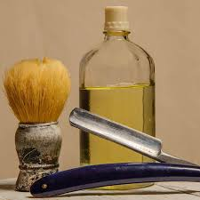 homemade aftershave with essential oils