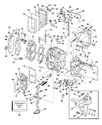 johnson cylinder and crankcase parts