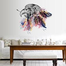 Flying Eagles Wall Decal Mural Sticker Art Removable Home Decor Sticker Diy