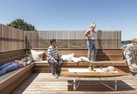 Best 32 Modern Outdoor Wood Fences Walls Rooftop Design Photos And Dwell