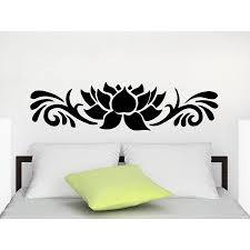 Shop Decals Lotus Flower Yoga Buddha Wall Art Sticker Decal Overstock 11965150