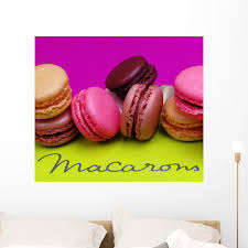 Macaroons Wall Mural By Wallmonkeys Peel And Stick Graphic 36 In W X 31 In H Wm121740 Walmart Com Walmart Com
