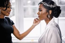 bridal makeup artist for black brides