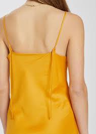 Ada Long Slip Dress Marigold